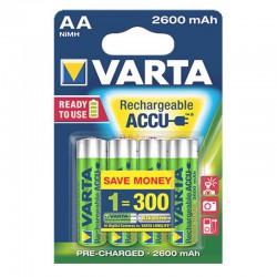 VARTA PROFESSIONAL ACCU AA 2600MAH R2U Bx4