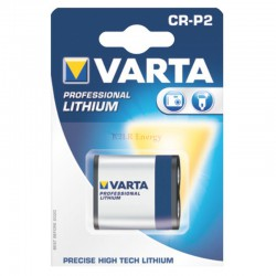 LITHIUM PHOTO 6V  CRP2  BLISTERx1