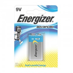 9V – 6LR61 ENERGIZER HIGH TECH ALCALINE B1
