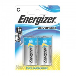 C – LR14 ENERGIZER ADVANCED ALCALINE