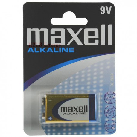MAXELL 6LR61 9V Bx1