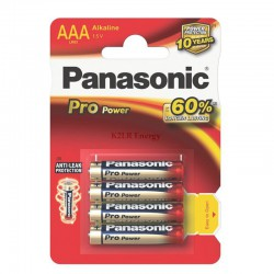 PANASONIC PRO POWER LR03-AAA Bx4