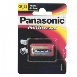PILE LITHIUM PHOTO CR123A PANASONIC