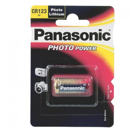 PILE LITHIUM PHOTO CR123A PANASONIC