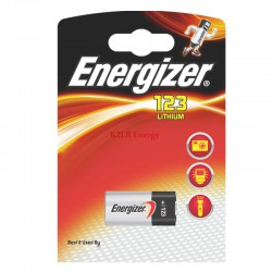 PILE LITHIUM PHOTO CR123A ENERGIZER