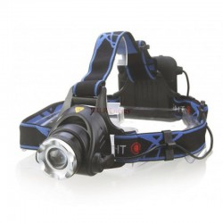 X1 FRONTALE LED CREE-T6 ZOOM 500Lm pour 4AA NON INCLUSES