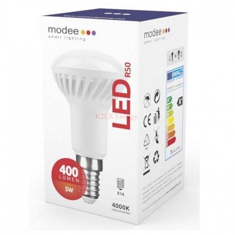 Modee Smart Lighting LED R50 5W E14 110° 4000K