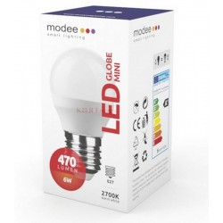 Modee Smart Lighting LED Globe Mini G45 6W E27 180° 2700K