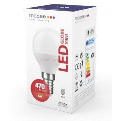 Modee Smart Lighting LED Globe Mini G45 6W E14 180° 2700K