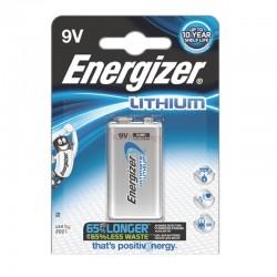 Pile lithium 9V Energizer