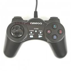 Omega manette de jeu tornado PC filaire