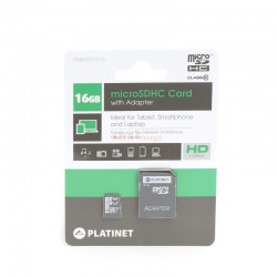 Carte micro SD 16GB + adapt SD