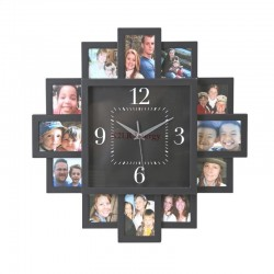 PLATINET HORLOGE SUNSET POUR 12 PHOTOS
