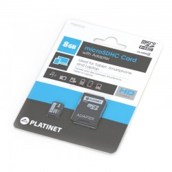 Carte micro SD 8GB + adapt SD