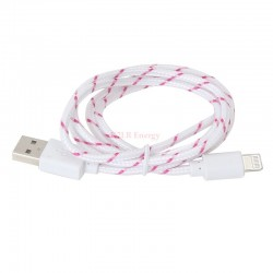 Cable Apple lightning tressé 1 mètre