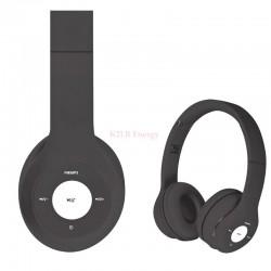 Ecouteurs rechargeables bluetooth + port micro SD + FM