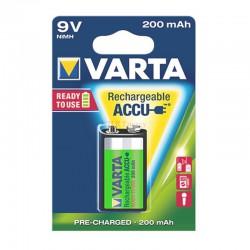 ACCU 9V  V7/8H 200 MAH BLISTERx1