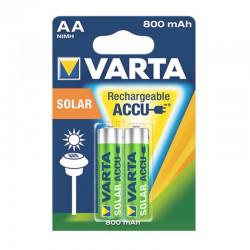 ACCU HR6 800 MAH Bx2 Pour Appareils solaire