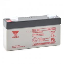 Batterie plomb 6V 1,2Ah