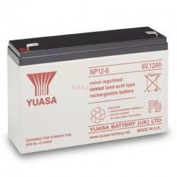 Batterie plomb 6V 12Ah