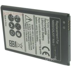 Batt OTech pour SAM GALAXY Note 3/N9000/N9005/N900