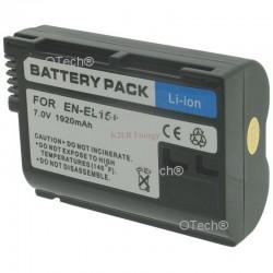 Batt OTech pour NIKON EN-EL15+ 7.0/7.2V Li-Ion 190