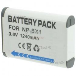 Batt OTech pour SONY NP-BX1 3.6V Li-Ion 1240mAh
