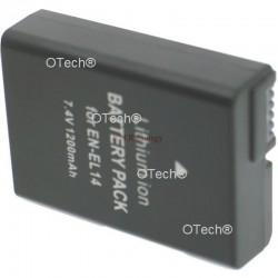 Batt OTech pour NIKON P7000 EN-EL14+ 7.4V 1030mAh